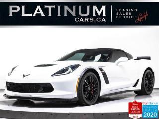 Used 2019 Chevrolet Corvette Z06 650HP, 2LZ, MANUAL, NAV, HUD, CAM, BOSE for sale in Toronto, ON