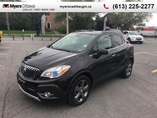 Used 2013 Buick Encore Leather  LEATHER, HTD SEATS, BOSE, NAV, REAR CAM for sale in Ottawa, ON