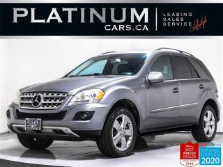 Used 2010 Mercedes-Benz ML-Class ML 350 4MATIC, AWD, NAV, CAM, LEATHER, HEATED for sale in Toronto, ON
