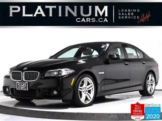 Used 2016 BMW 5 Series 528i xDrive, AWD, M-SPORT, NAV, CAM, SUNROOF, HEAT for sale in Toronto, ON