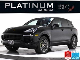 Used 2017 Porsche Cayenne S E-Hybrid, PREMIUM PLUS, NAV, PANO, CAM, CARBON for sale in Toronto, ON
