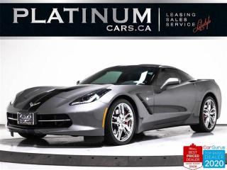 Used 2015 Chevrolet Corvette STINGRAY Z51 3LT, EDELBROCK SUPERCHARGER, NAV, HUD for sale in Toronto, ON