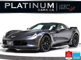 Used 2017 Chevrolet Corvette Grand Sport, 3LT, 460HP, MANUAL, NAV, CAM, HUD, BT for sale in Toronto, ON
