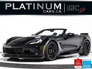 Used 2017 Chevrolet Corvette Z06 650HP, 3LZ, CONVERTIBLE, CARBON, AUTO, NAV for sale in Toronto, ON