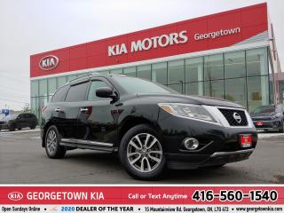 Used 2014 Nissan Pathfinder SL AWD | LTHR | NAV | BU CAM | B/TOOTH | 7 PASS for sale in Georgetown, ON