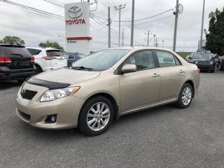 Used 2010 Toyota Corolla Auto LE for sale in St-Hubert, QC