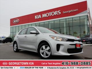 Used 2018 Kia Rio 5-Door LX+|ACCDNT-FREE|REMTE STRTR|B/UP CAM|HTD STS for sale in Georgetown, ON