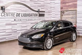 Used 2016 Ford Focus Electric MAGS+CAMERA DE RECUL+GR ELECTRIQUE+AIR CLIM for sale in Laval, QC