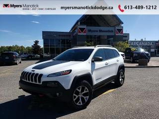 Used 2016 Jeep Cherokee Trailhawk  - Bluetooth - $240 B/W for sale in Ottawa, ON