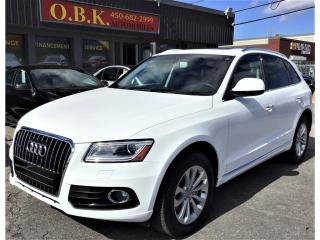 Used 2017 Audi Q5 Quattro-2.0T-Progressiv-TOIT PANORAMIQUE-BLUETOOTH for sale in Laval, QC