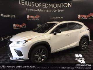 New 2021 Lexus NX 300 F Sport Series 2 for sale in Edmonton, AB