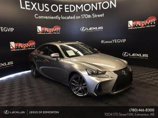 Used 2018 Lexus IS 350 F Sport Series 3 for sale in Edmonton, AB