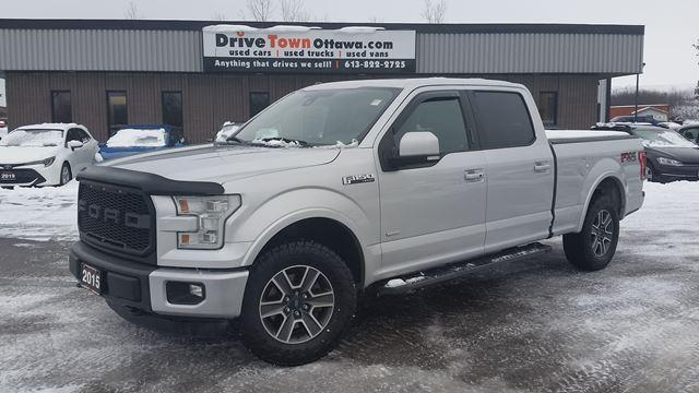 2015 Ford F-150 LARIAT CREW 4X4 **PANOROOF**NAVIGATION**LOADED**