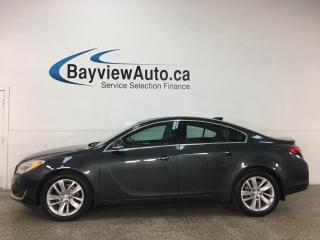 Used 2016 Buick Regal - HTD LEATHER! SUNROOF! INTELLILINK! ONLY 51,000KMS! + MORE! for sale in Belleville, ON