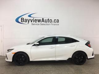Used 2017 Honda Civic Sport - AUTO! SUNROOF! HTD SEATS! PWR GROUP! + MORE! for sale in Belleville, ON