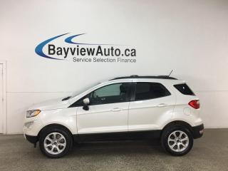 Used 2018 Ford EcoSport SE - 4WD! NAV! SUNROOF! LOW KMS! for sale in Belleville, ON