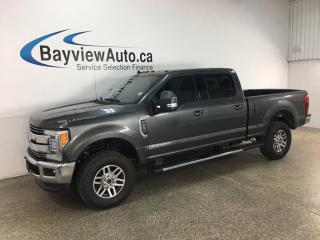 Used 2019 Ford F-250 Lariat - 4X4! HTD/COOLED LTHR! NAV! PWR TAILGATE! LOADED! for sale in Belleville, ON