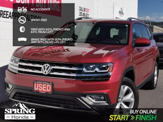 Used 2018 Volkswagen Atlas 3.6 FSI Highline NO ACCIDENTS, SMOKE-FREE, PET-FREE, 2 SETS OF KEYS for sale in Cranbrook, BC