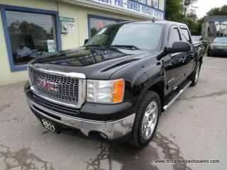 Used 2011 GMC Sierra 1500 LOADED SLT MODEL 5 PASSENGER 5.3L - VORTEC.. 4X4.. CREW-CAB.. SHORTY.. NAVIGATION.. LEATHER.. HEATED SEATS.. POWER SUNROOF.. BOSE AUDIO.. DVD PLAYER.. for sale in Bradford, ON
