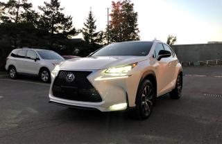 Used 2015 Lexus NX 200t FSPORT2 RED LEATHER SUNROOF HEATED for sale in Ottawa, ON