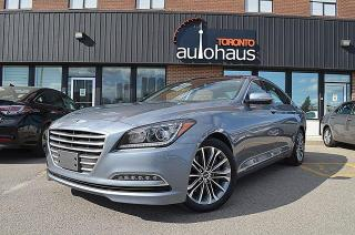 Used 2016 Hyundai Genesis Navigation/Panorama/BSM/Leather/AWD for sale in Concord, ON
