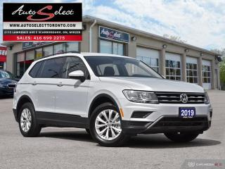 Used 2019 Volkswagen Tiguan Trendline AWD ONLY 65K! **BACK-UP CAMERA** CLEAN CARPROOF for sale in Scarborough, ON