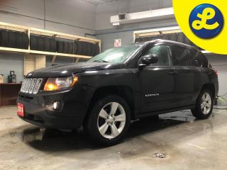 Used 2014 Jeep Compass NORTH 4X4  * Leather/cloth interior * Uconnect Voice Command w/Bluetooth * Keyless entry * Climate control * Phone connect * Hands free steering wheel for sale in Cambridge, ON