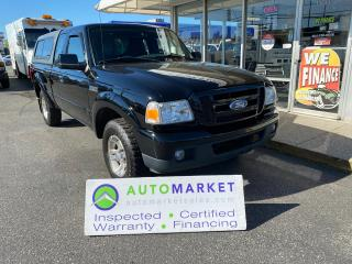 Used 2006 Ford Ranger Sport SuperCab CANOPY! FREE BCAA & WRNTY! YOU WORK/YOU DRIVE! for sale in Langley, BC