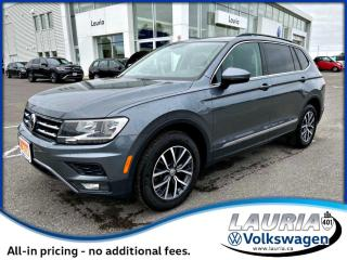 Used 2018 Volkswagen Tiguan 2.0T Comfortline 4Motion AWD for sale in PORT HOPE, ON