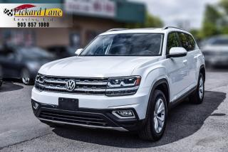 Used 2018 Volkswagen Atlas 3.6 FSI Highline 1 OWNER! | ONTARIO VEHICLE! | PANORAMIC SUNROOF for sale in Bolton, ON