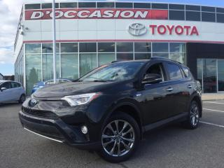 Used 2017 Toyota RAV4 Hybrid HYBRIDE LTD ***PEA PLATINE 2021/100 000KM*** for sale in St-Eustache, QC