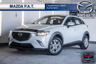 Used 2017 Mazda CX-3 AWD,AUTOMATIQUE,CAMÉRA DE RECUL,BLUETOOTH for sale in Montréal, QC