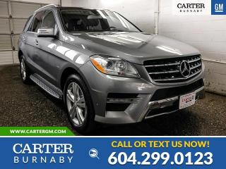 Used 2012 Mercedes-Benz ML-Class for sale in Burnaby, BC