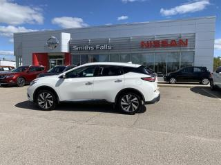 Used 2018 Nissan Murano Platinum AWD CVT for sale in Smiths Falls, ON