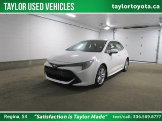 Used 2019 Toyota Corolla Hatchback for sale in Regina, SK