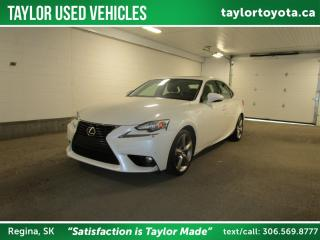 Used 2014 Lexus IS 350 Luxury Package for sale in Regina, SK