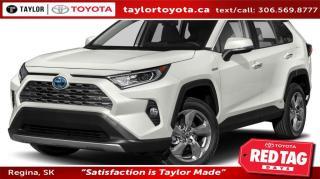 New 2020 Toyota RAV4 Hybrid Limited for sale in Regina, SK