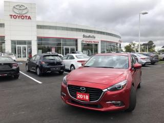 Used 2018 Mazda MAZDA3 GT SPORT - HATCHBACK - LEATHER INTERIOR for sale in Stouffville, ON