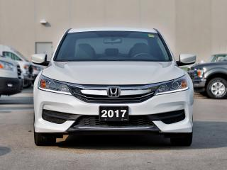 Used 2017 Honda Accord LX PRE-OWNED, CERTIFIED! ONLY 54000KMS! for sale in Hamilton, ON