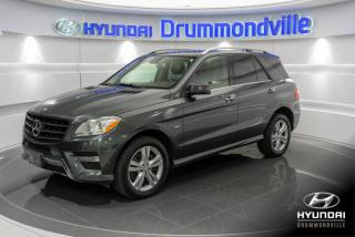 Used 2012 Mercedes-Benz ML-Class GARANTIE + NAVI + TOIT PANO + BLUETEC + for sale in Drummondville, QC