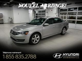Used 2012 Volkswagen Passat COMFORTLINE + GARANTIE + CUIR + TOIT + W for sale in Drummondville, QC