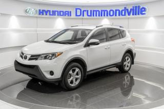 Used 2015 Toyota RAV4 LE + GARANTIE + A/C + MAGS + CRUISE + BL for sale in Drummondville, QC