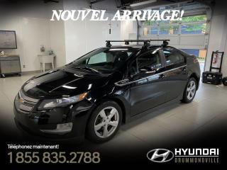 Used 2014 Chevrolet Volt PREMIER + GARANTIE + NAVI + CUIR + BOSE for sale in Drummondville, QC