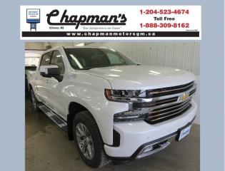New 2020 Chevrolet Silverado 1500 High Country Remote Start, Heated & Ventilated Front Seats, HD Surround Vision for sale in Killarney, MB