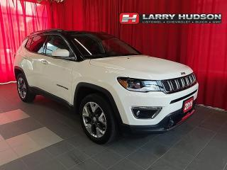 Used 2018 Jeep Compass Limited 4WD | Leather | Navigation | Sunroof for sale in Listowel, ON