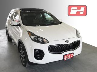 Used 2017 Kia Sportage EX Tech AWD | Panoramic Sunroof | Navigation | Leather Seats for sale in Stratford, ON