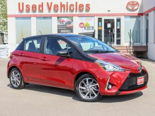 Used 2019 Toyota Yaris SE HATCHBACK  ALLOYS DUAL COLOR H-SEATS for sale in North York, ON