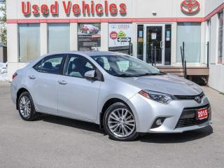 Used 2015 Toyota Corolla LE UPGRADE ALLOYS SUNROOF CAMERA H-SEATS for sale in North York, ON