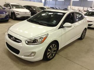 Used 2016 Hyundai Accent GLS Toit Jantes A/C for sale in Longueuil, QC