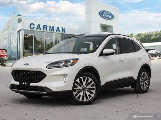 New 2020 Ford Escape Titanium Hybrid for sale in Carman, MB